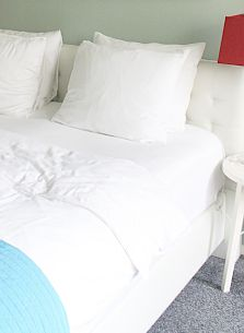 Frische Bettdecke (Foto: A.Kaatz)