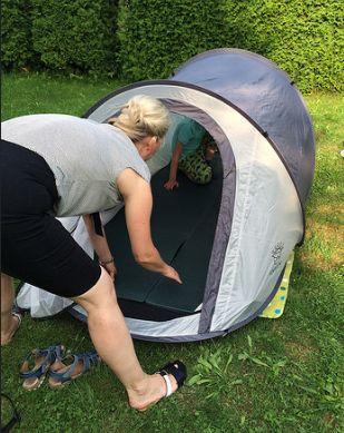 Zelten mit Familie - ein kalkulierbares Abenteur